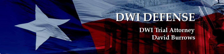 DWI News Trial Lawyer David Burrows